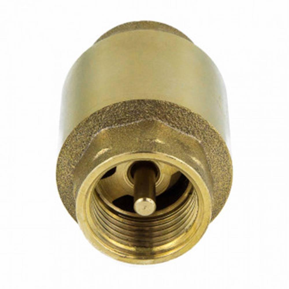 Клапан обратный 1 ВР(г) х 1 ВР(г) латунный золотник
