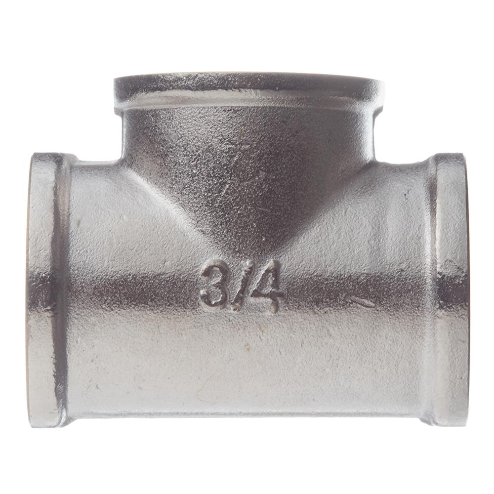Фото - Тройник 3/4 ВР(г) х 3/4 ВР(г) х 3/4 ВР(г) латунный удлинитель 20 мм х 3 4 вр г х 3 4 нр ш латунный