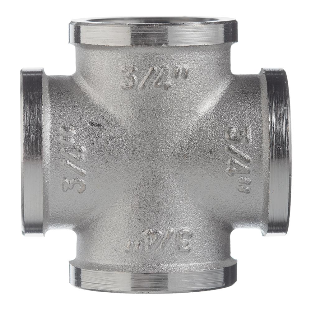 Крестовина Valtec (VTr.760.N.0005) 3/4 ВР(г) х 3/4 ВР(г) х 3/4 ВР(г) х 3/4 ВР(г) латунная