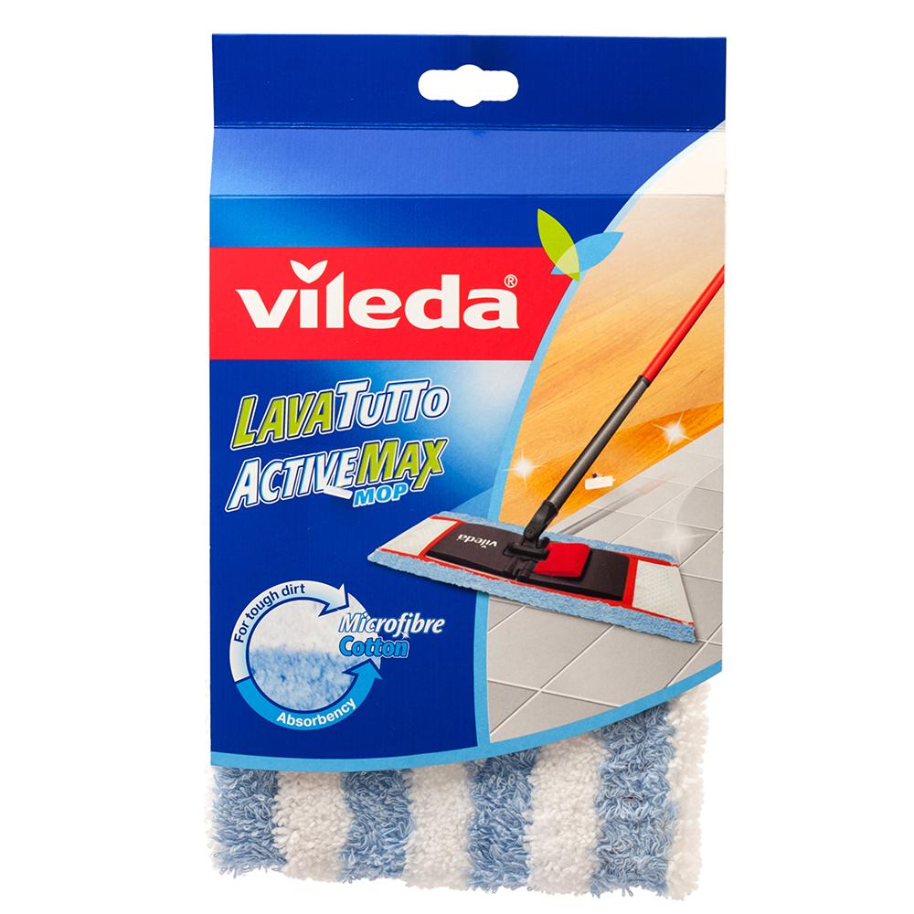 Фото - Насадка для швабры Vileda ActiveMax насадка guten tag для швабры из микрофибры шениль 42 12см