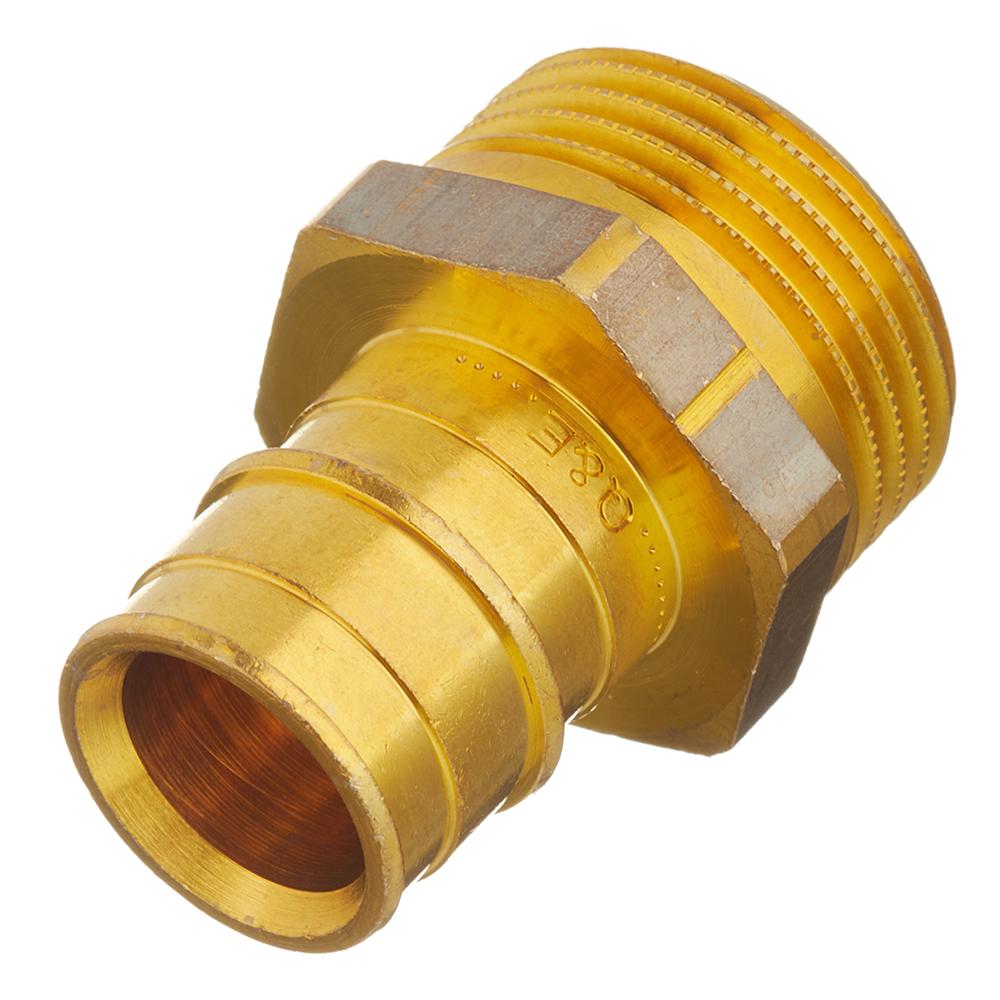 Соединитель прямой Uponor (1047863) 25 мм х 1 НР(ш) латунный