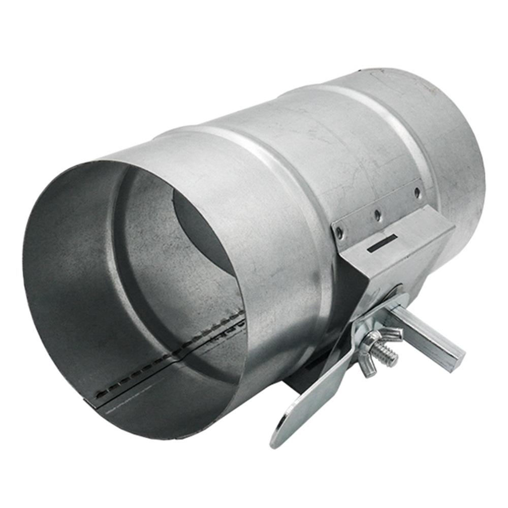 Дроссель-клапан для круглых воздуховодов d400 мм оцинкованный