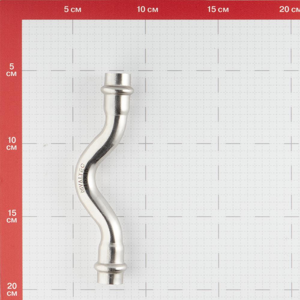 Обвод Valtec (VTi.971.I.001515) 15х15 мм ВВ нержавеющая