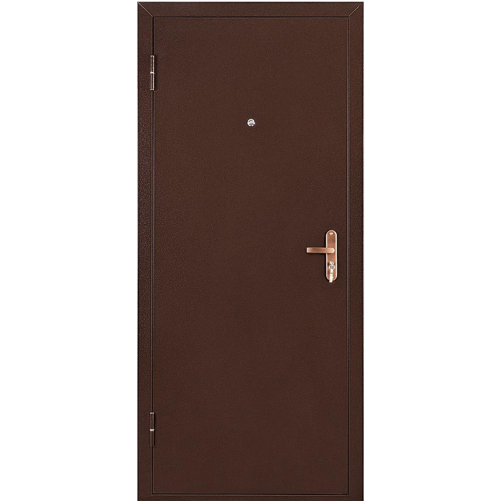 Дверь входная Промет Профи BMD медный антик - медный антик левая 950х2050 мм