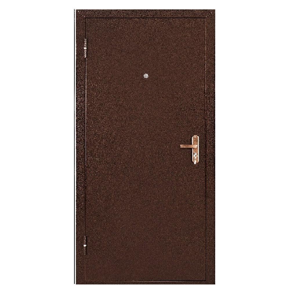 Дверь входная Промет Спец BMD медный антик - итальянский орех левая 850х2050 мм