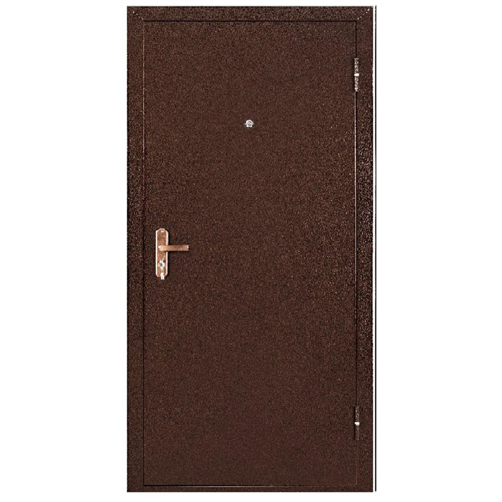 Дверь входная Промет Спец BMD медный антик - итальянский орех правая 850х2050 мм