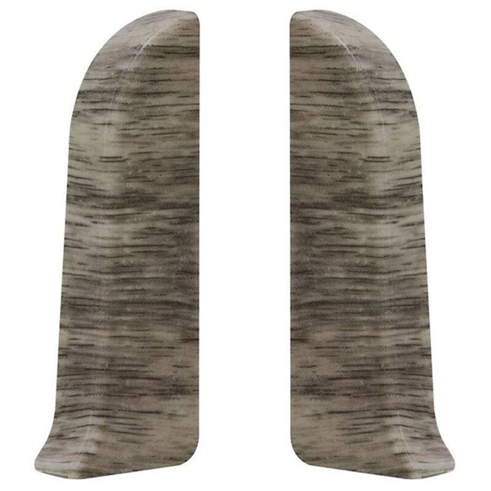 Заглушка торцевая Wimar 58 мм дуб альба левая-правая (2 шт.)