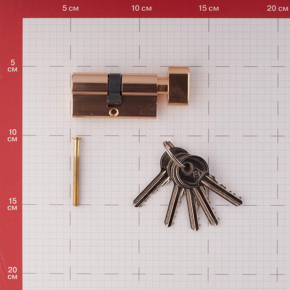 Цилиндр Palladium AL 60 T01 PB 60 (30х30) мм ключ-вертушка латунь
