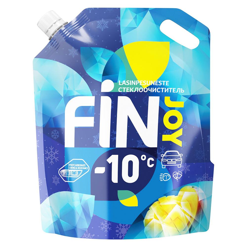 Стеклоомыватель FIN JOY INDIGO mango зимний -10 °С 3 л