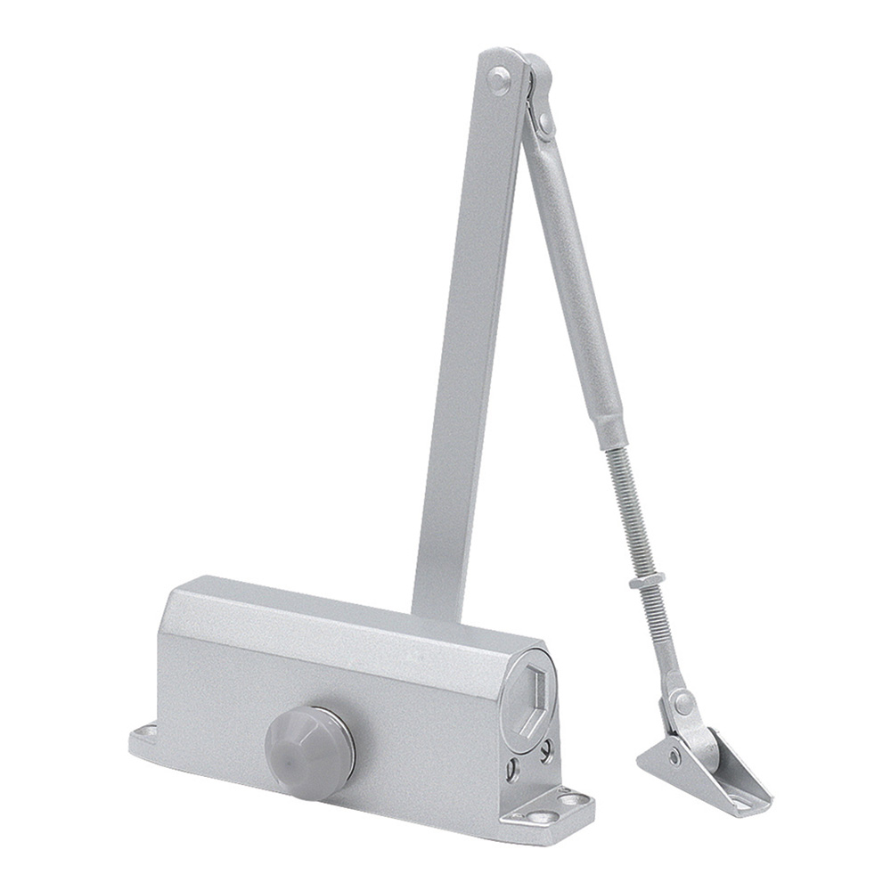 Доводчик дверной Corsa Deco (60 кг) серебро
