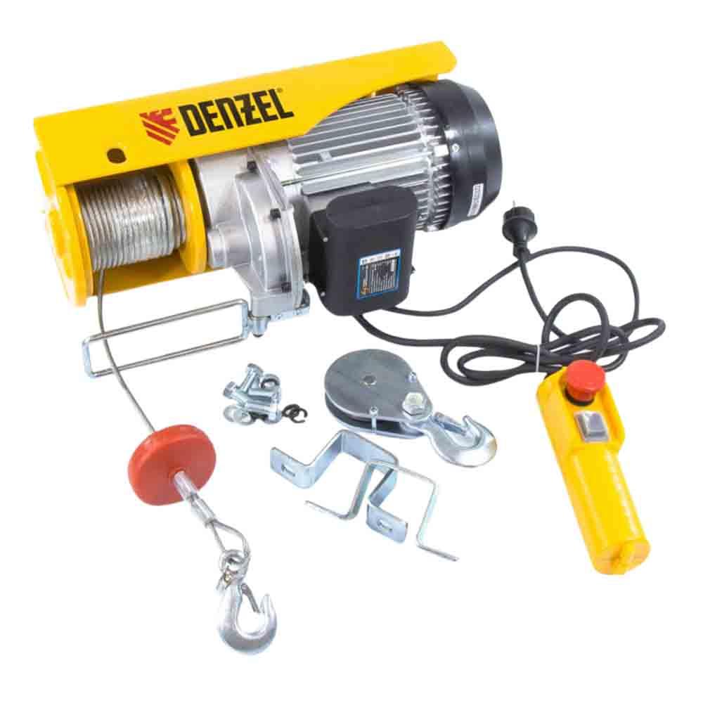 Тельфер электрический Denzel 1600 Вт 990 кг