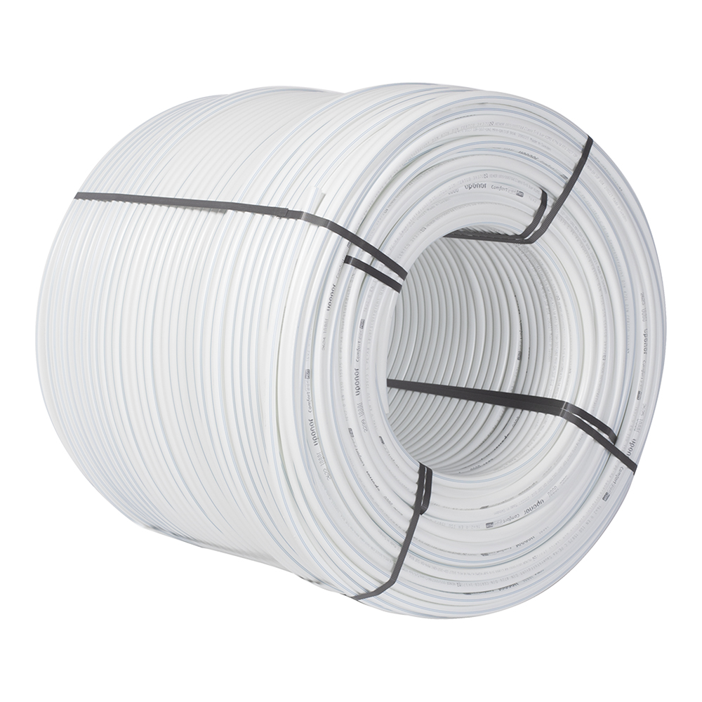 Труба из сшитого полиэтилена PE-Xa Uponor Comfort Pipe Plus (1062046) 16 х 2,0 мм PN6 белая (640 м)