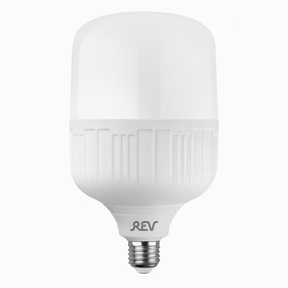 Лампа светодиодная REV 40 Вт E27 цилиндр T120 6500 К холодный свет 230 В прозрачная