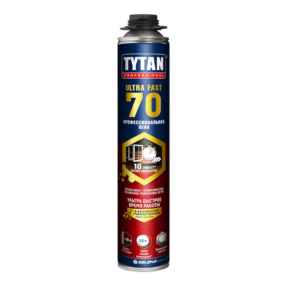 Пена монтажная Tytan Ultra Fast 70 профессиональная 870 мл