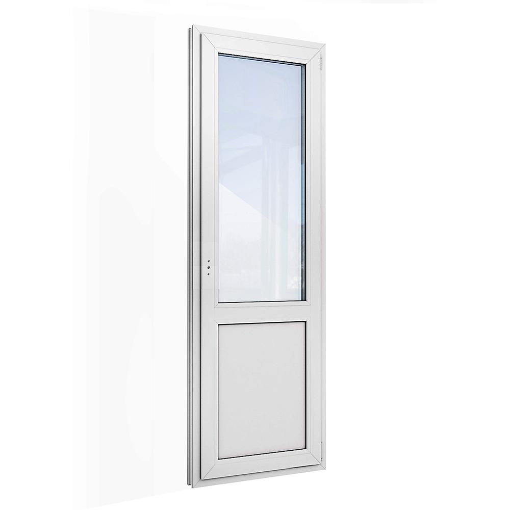Дверь пластиковая VEKA WHS Halo 2140х670 мм правая поворотно-откидная 1 створка двухкамерная