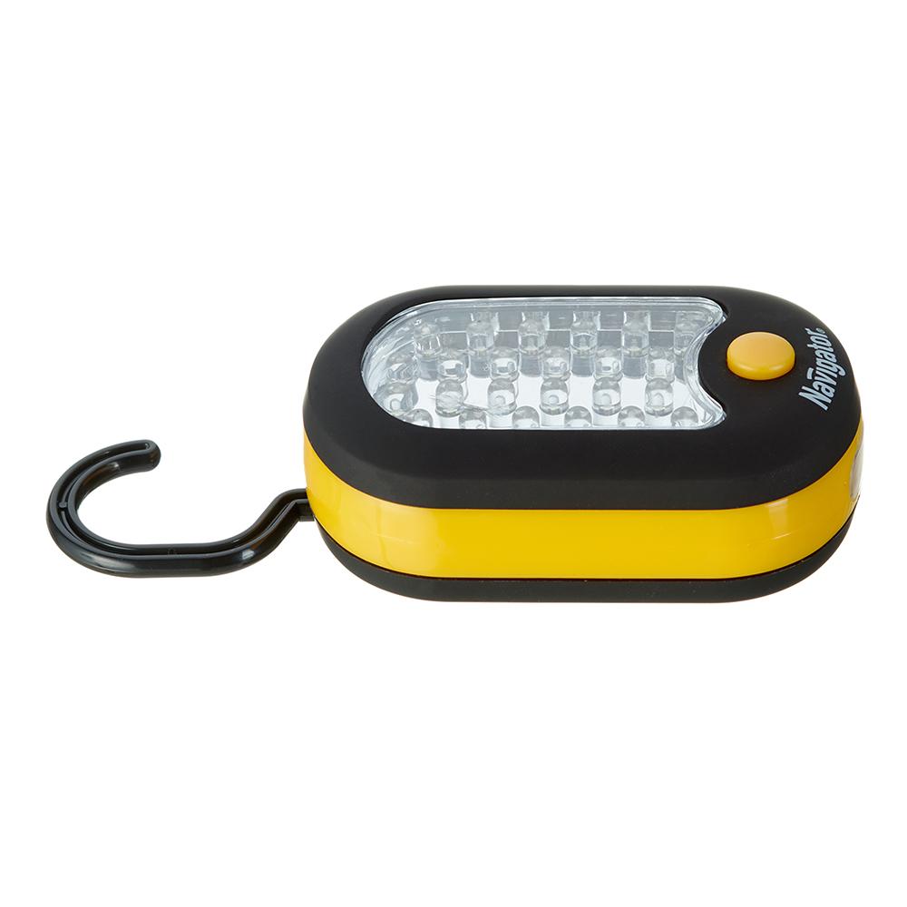 Фонарь подвесной Navigator (949577) светодиодный 24+3 LED на батарейках пластик