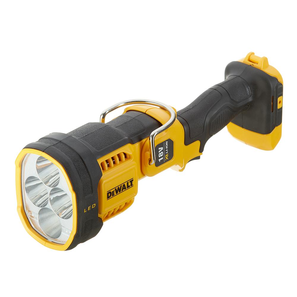 Фонарь ручной DeWalt DCL043-XJ светодиодный 4 LED аккумуляторный Li-Ion пластик без АКБ и ЗУ