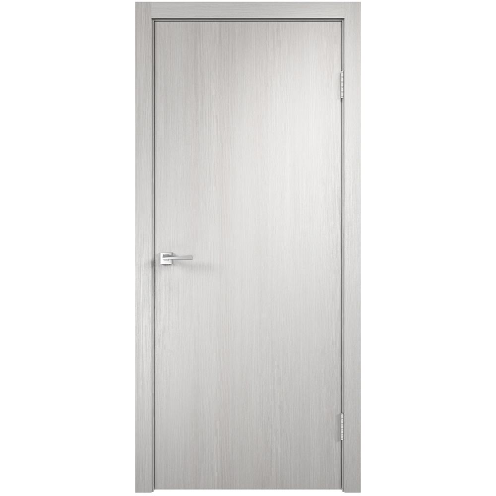 Фото - Дверное полотно VellDoris Smart дуб белый глухое экошпон 700x2000 мм дверное полотно velldoris interi 10 лиственница белая глухое ламинированная финишпленка 700x2000 мм