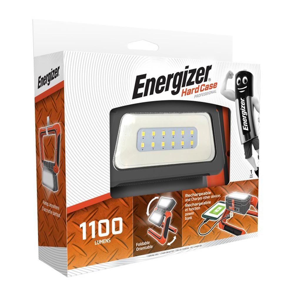 Фонарь Energizer Panel Light (E301699400) светодиодный 20 LED аккумуляторный ударопрочный пластик с USB для зарядки смартфонов