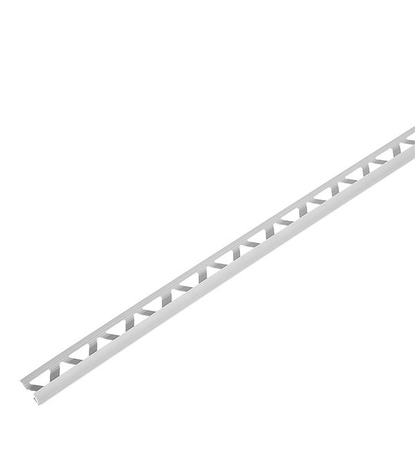 Купить Уголок для кафельной плитки наружный 7 мм 2.5 м светло-серый, Серый