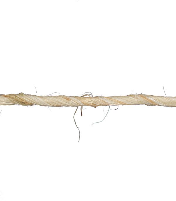 Купить Нить сизалевая d2 мм 36 м, Сизалевое волокно