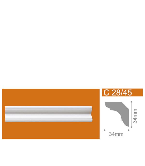 Фото - Плинтус из пенополистирола 34х34х2000 мм Solid C28/45 стикеры для стен zooyoo1208 zypa 1208 nn