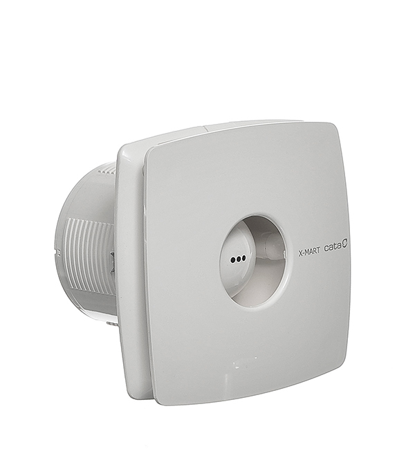 Вентилятор осевой Cata X-Mart 10 d100 мм вентилятор осевой cata x mart 10 inox d100 мм серебристый