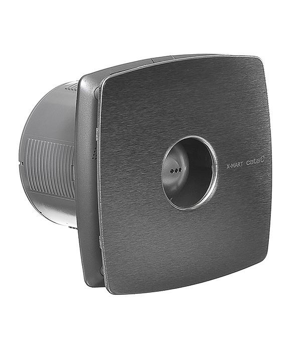 Вентилятор осевой Cata X-Mart 12 Inox d120 мм вентилятор осевой cata x mart 10 inox d100 мм серебристый