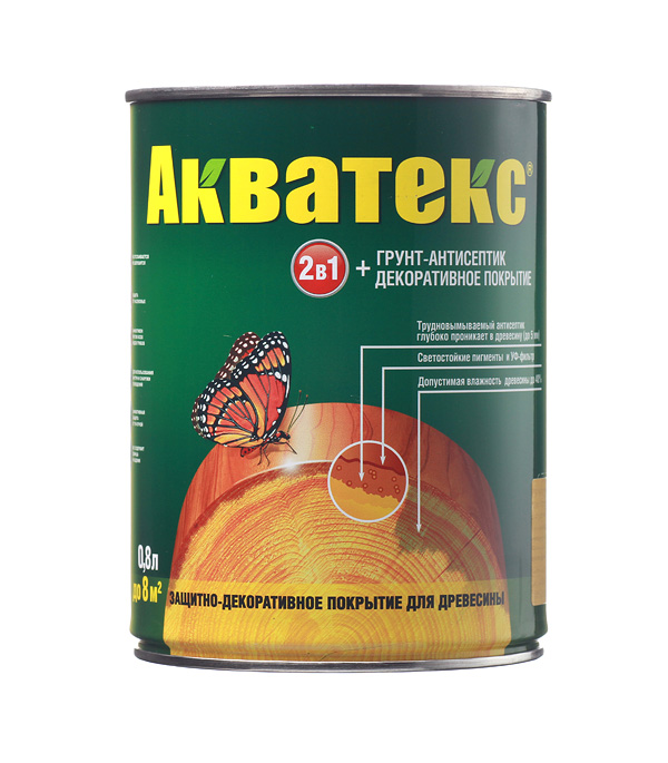 Антисептик Рогнеда Акватекс сосна 0.8 л защитное покрытие для древесины акватекс белый рогнеда 10л