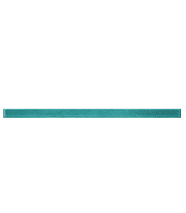 Плитка бордюр стеклянный 400х20х8,5мм Фреш 8 морская волна бордюр cersanit fordewind морская волна 4х44