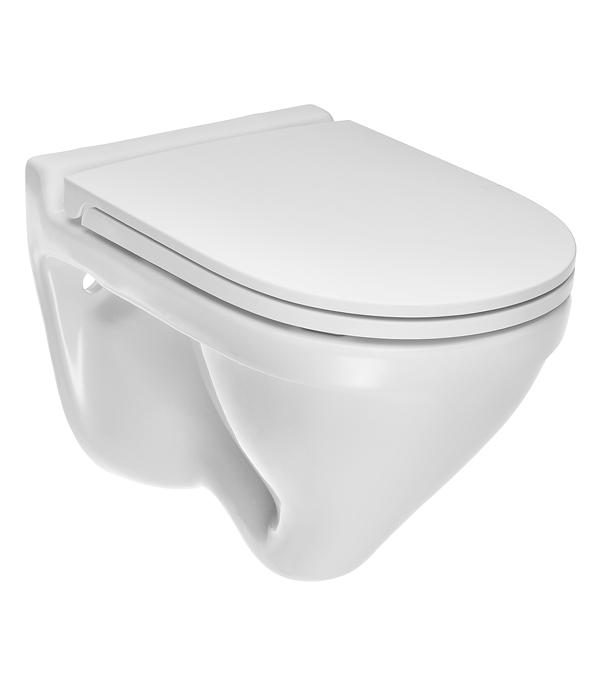 Унитаз подвесной SANITA LUXE Attica DM с сиденьем дюропласт микролифт унитаз подвесной sanita luxe аттика