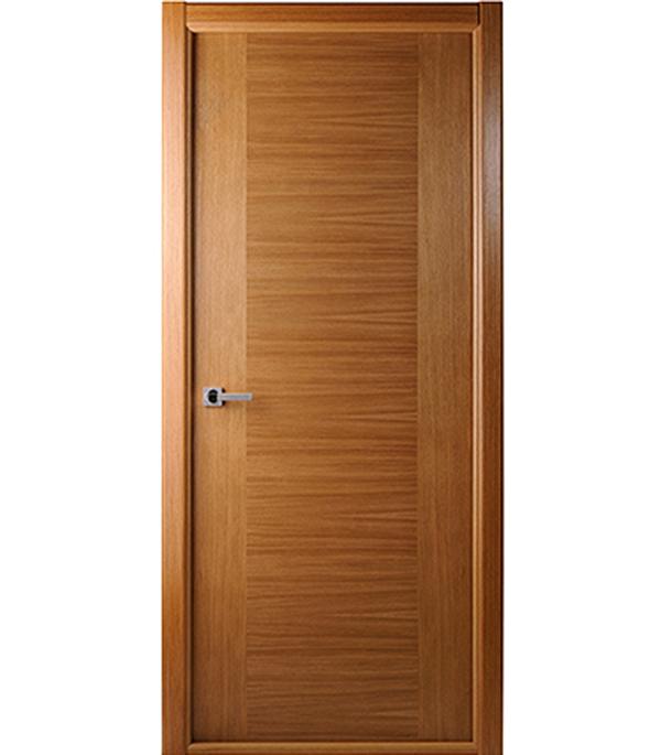Дверное полотно шпонированное Белвуддорс Классика люкс дуб 700x2000 мм глухое без притвора дверное полотно белвуддорс капричеза шпонированное орех 700x2000 мм без притвора