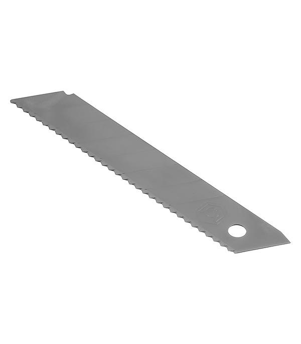 Лезвие для ножа Armero зубчатое 18 мм (5 шт)