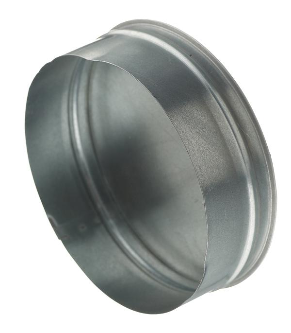 Заглушка оцинкованная d200 мм врезка оцинкованная для круглых стальных воздуховодов d125х100 мм