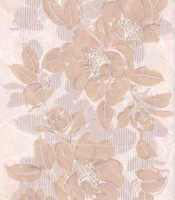 Плитка декор 200х300х6,9 мм Баккара цветы бежевый декор kerama marazzi фраскати ar81 12026 25x75