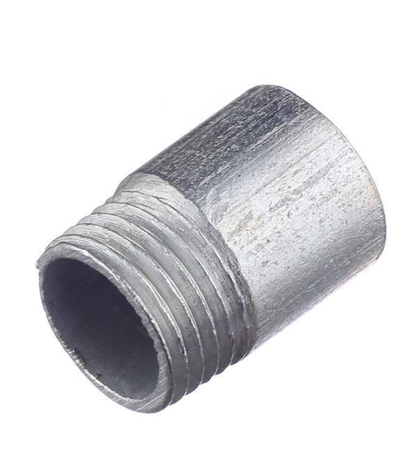 Купить Резьба 1/2 нар(ш) стальная оцинкованная