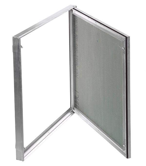 Люк ревизионный под покраску Планшет Короб Практика 600х600 мм алюминиевый
