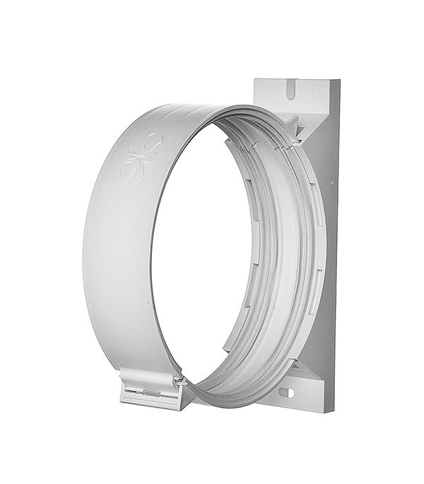 Держатель для круглых воздуховодов пластиковый d125 мм врезка оцинкованная для круглых стальных воздуховодов d125х100 мм