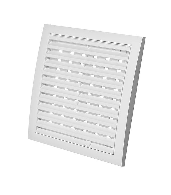 Вентиляционная решетка пластиковая Эра 200х200 мм регулируемая