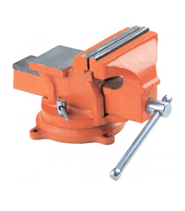 Тиски слесарные Sparta 125 мм слесарные поворотные тиски 125 мм fit т 36300 59712