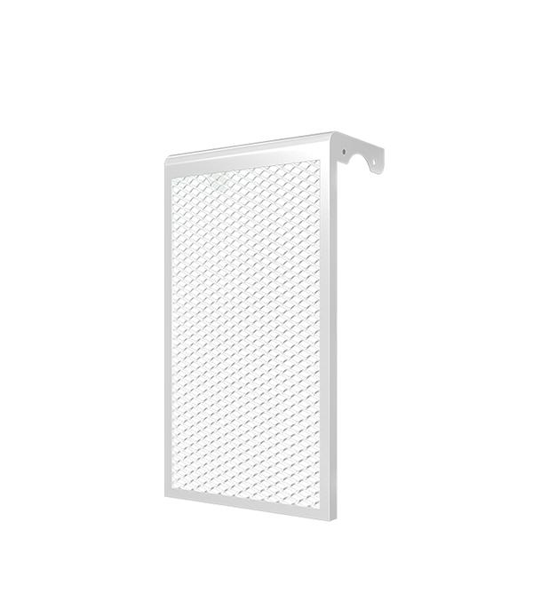Декоративный металлический экран на радиатор 7-ми секционный