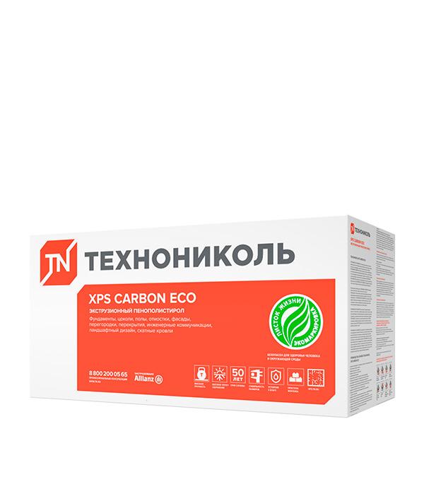 Экструдированный пенополистирол Технониколь Carbon Eco Г4 1180х580х50 мм