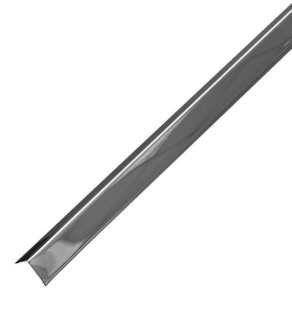 Купить Профиль угловой универсальный PL 19х24х3000 мм суперхром, Хром, Оцинкованная сталь