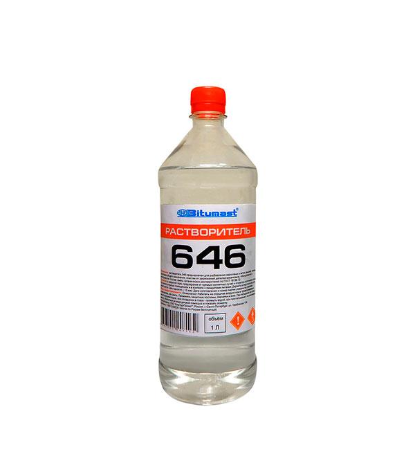 Растворитель 646 Bitumast ГОСТ 0,8 кг/0,95 л цены