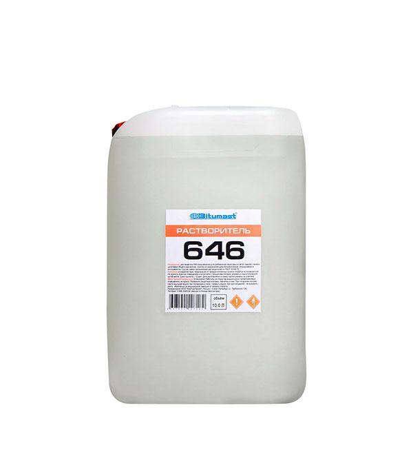 Растворитель 646 Bitumast ГОСТ 8 кг/9,5 л цены
