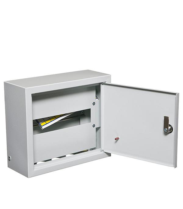Щиток навесной IEK ЩРН для 12 модулей металлический IP31 iek mkm14 n 18 31 z корпус металлический щрн 18з 1 36 ухл3 ip31