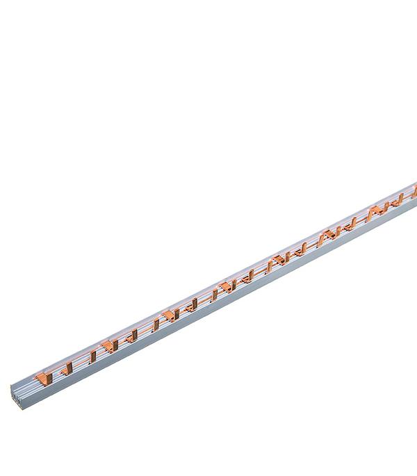 Шина соединительная IEK тип PIN штырь 3-рядная до 63А длина 1 м