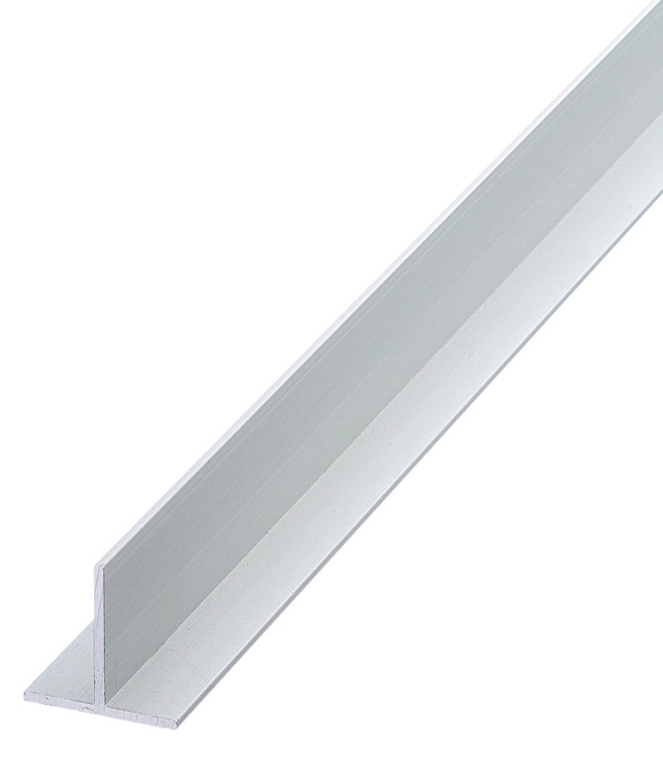 Профиль T-образный алюминиевый 20х20х1,5х2000 мм анодированный arlight алюминиевый профиль box60 side 2000 anod