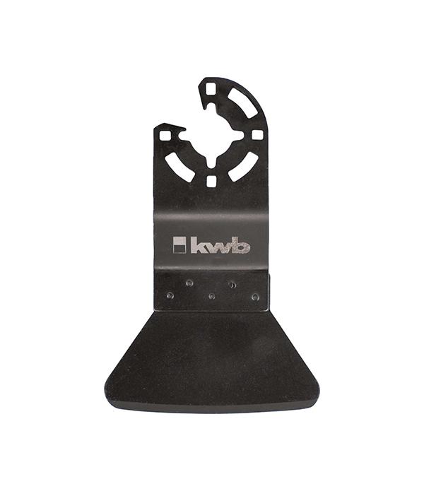 Шабер KWB Стандарт жесткий для МФУ пильное полотно для мфу по металлу 87 мм kwb стандарт