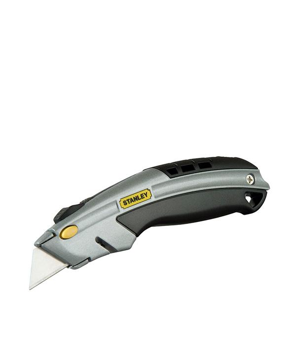 Нож Stanley Dynagrip с выдвижным лезвием 19 мм нож stanley с выдвижным лезвием